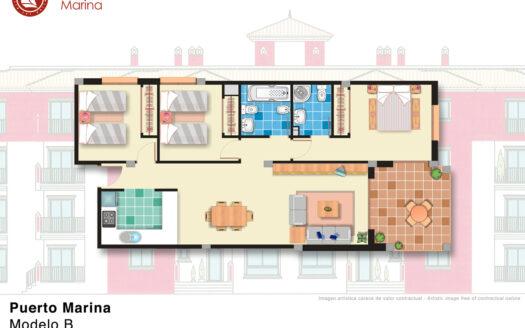 Köpa bostad i Spanien - Puerto Marina, Los Alcázares.  SolEuropa, svensk fastighetsmäklare i Spanien.