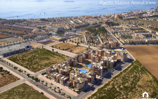 Puerto Marina, Los Alcázares.  SolEuropa, svensk fastighetsmäklare i Spanien